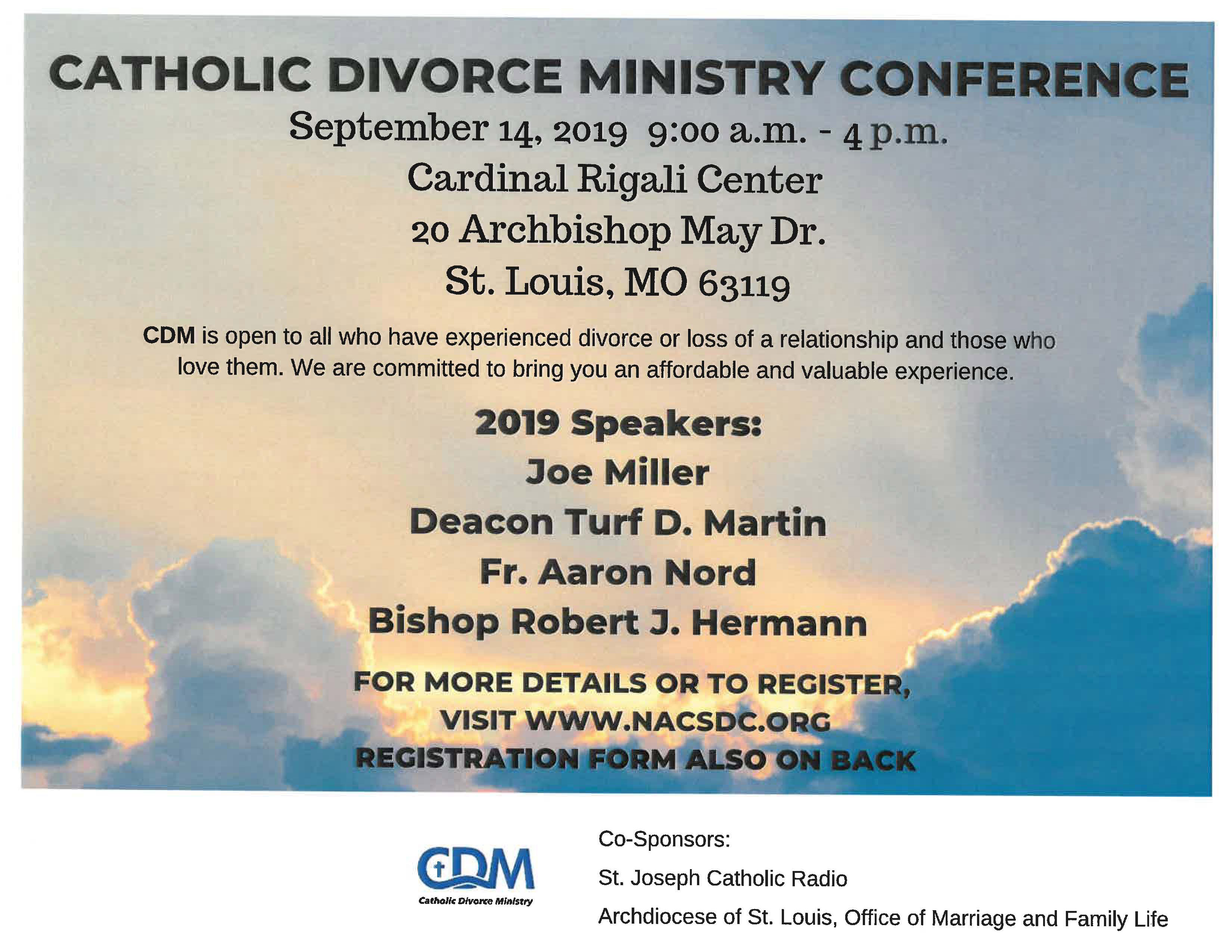 Catholic Divorce Ministry Conference 2019